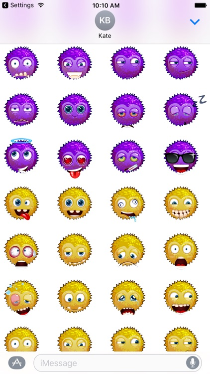 Funny emoticons - Stickers screenshot-4