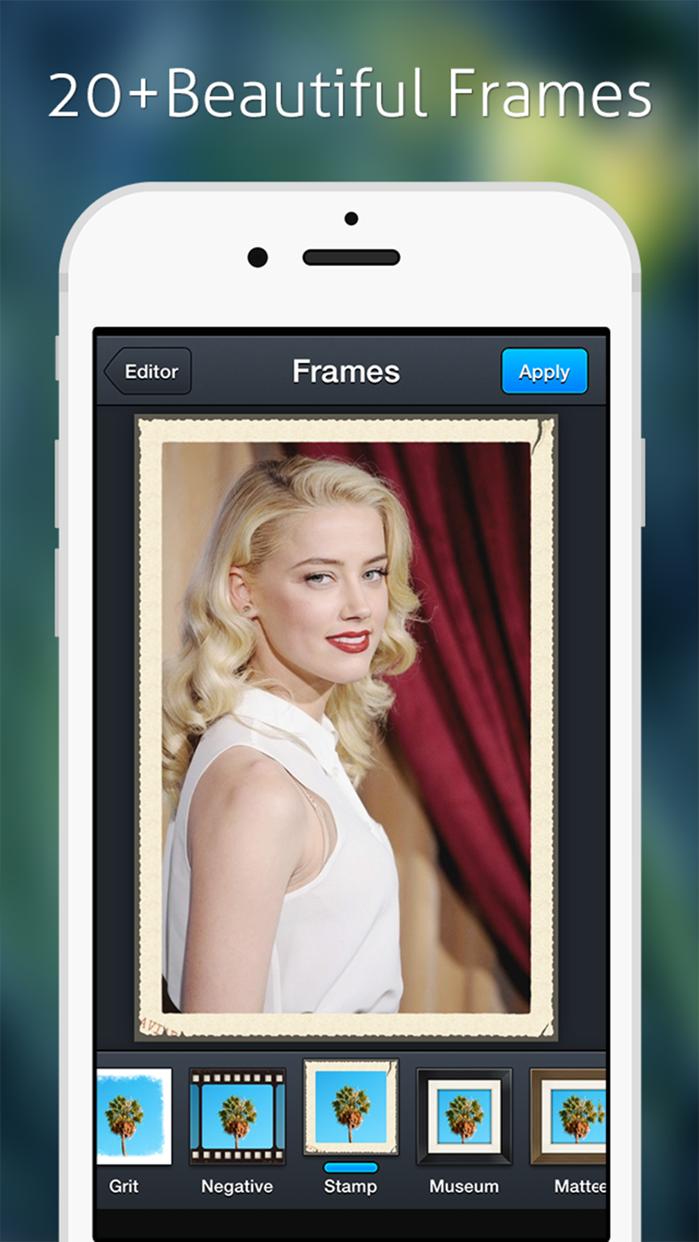 Image Editor - Filters Sticker Screenshot