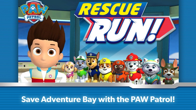 PAW Patrol Rescue Run screenshot-0