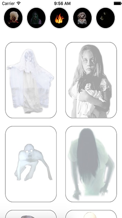 Ghost in Picture Camera : Scary Ghosts Stickers screenshot-3
