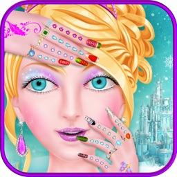 Ice Princess Nail Salon Girls Games