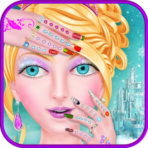 Nail Girl Games: Ice Princess Nail Salon Girls Games By Imran Haydar