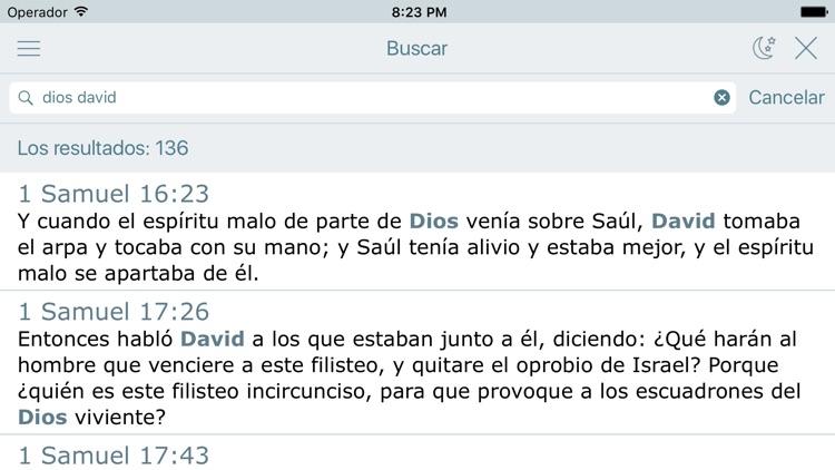 La Biblia Reina Valera en Audio Estudios Biblicos screenshot-3