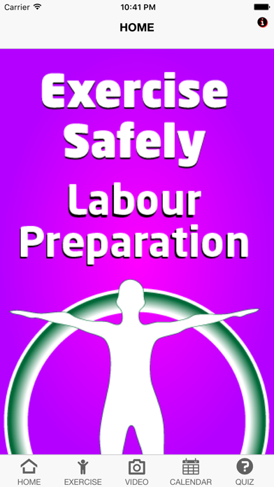 Exercise Labour Preparation screenshot one