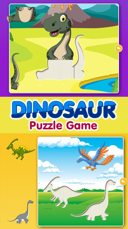 Kids Dinosaur Puzzle Games: Toddlers Free Puzzles