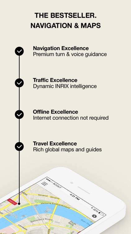 GPS Navigation, Maps & Traffic - Scout Nordics