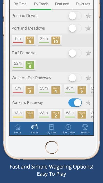4NJBets - New Jersey Horse Racing Betting by TVG screenshot-3