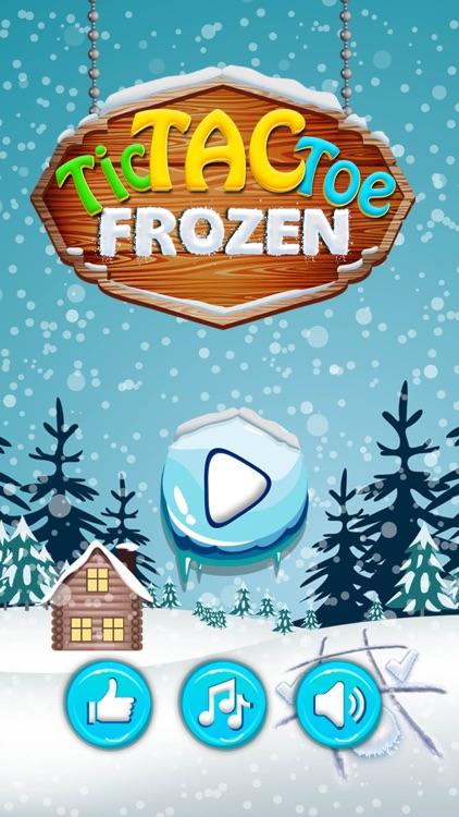 Frozen Tic Tac Toe - Free Fall screenshot-4