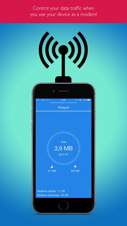 Hotspot Monitor Data Usage Pro