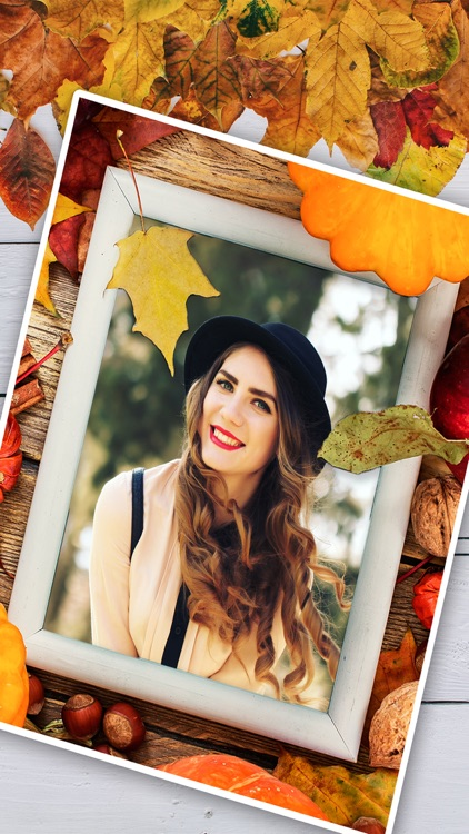 Autumn Photo Frames – Album & Picture Editor Pro screenshot-3