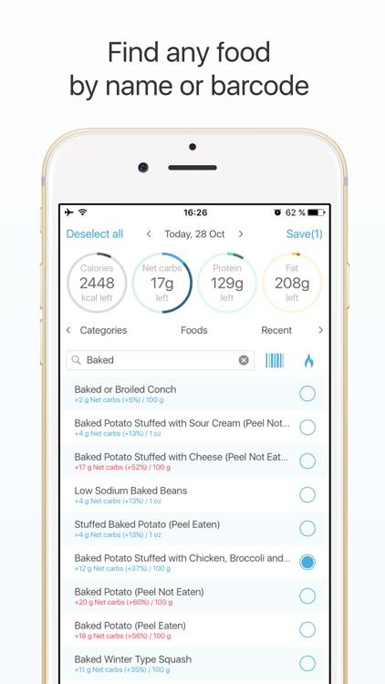 Keto diet tracker: low carb diet guide app image