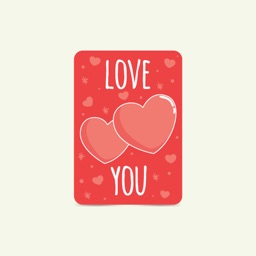 Love - eCard Stickers for iMessage