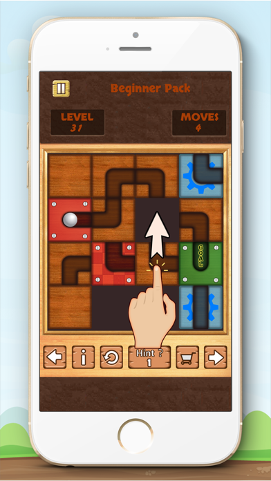 Unblock Ball Free - slide puzzle screenshot two