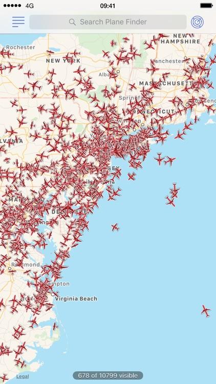 Plane Finder Lite screenshot-4