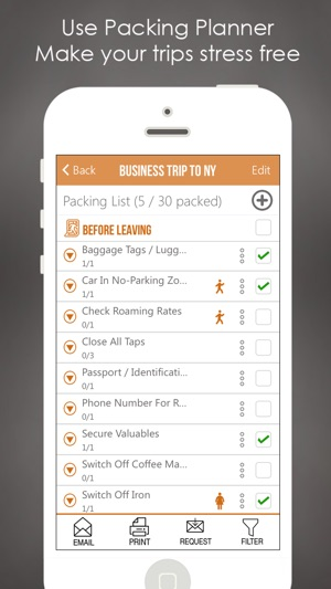 travel packing list pro on the app store