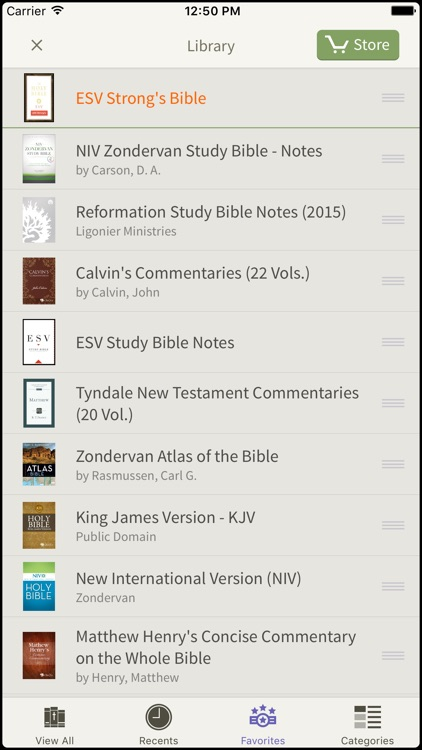 NRSV Bible by Olive Tree screenshot-4
