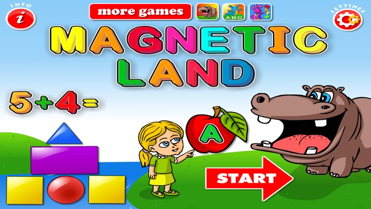 ABC Magnetic Land: Learn Alphabet,Shapes & Letters