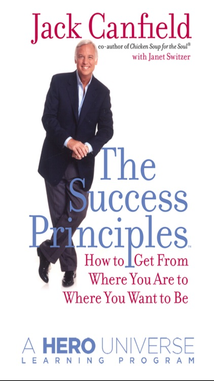Success Principles by Jack Canfield- Audiobook Meditations A Business  and Life Learning Program from Hero Universe screenshot-0