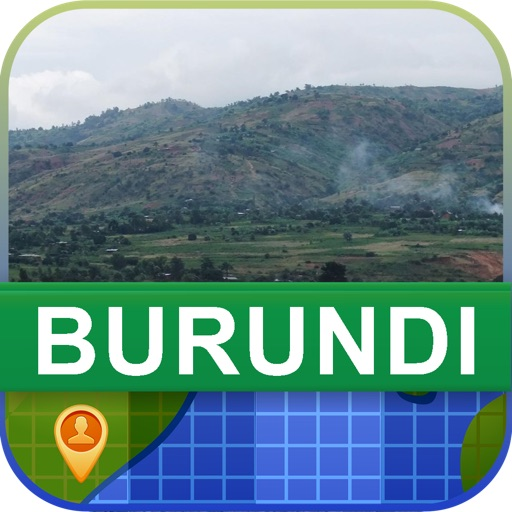 Offline Burundi Map - World Offline Maps