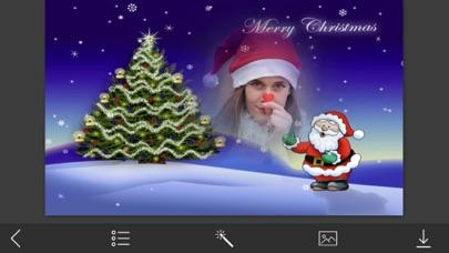 Santa claus Frame - Cool Frames Screenshot on iOS