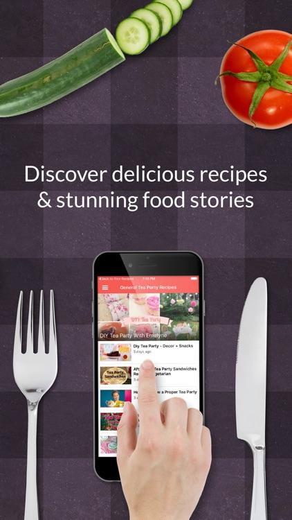 Tea party Recipes: Food recipes & cookbook
