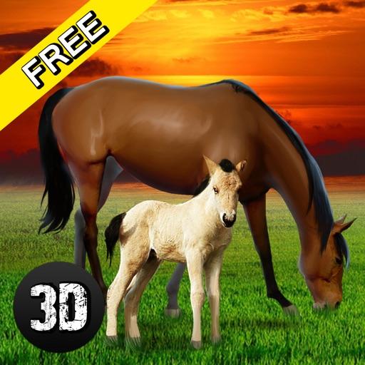 Wildlife: Horse Survival Simulator 3D by Tayga Games OOO