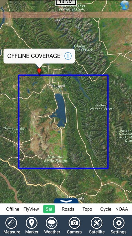 Flathead lake Montana charts GPS fishing Navigator screenshot-4