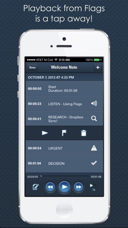 CaptureAudio - Voice, Meeting & Lecture Recorder screenshot-3