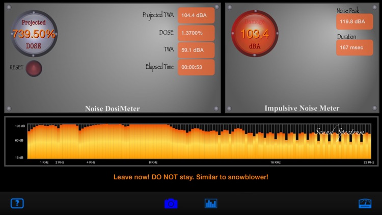 SoundMeter+ screenshot-1