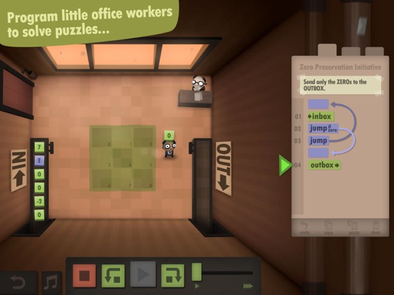 Screenshot #2 for Human Resource Machine