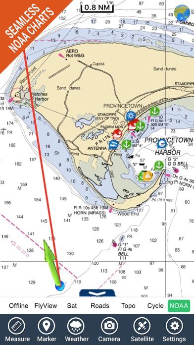 Marine : Cape Cod GPS offline map fishing charts | App Price Drops