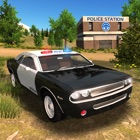 Police Car driving Offroad 4x4 icon