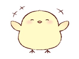 The Baby Chick Stickers
