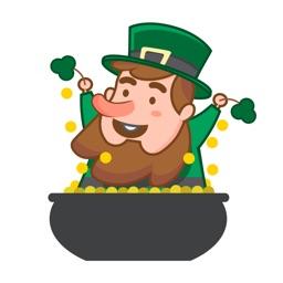 St Patricks Day Leprechaun Sticker Pack