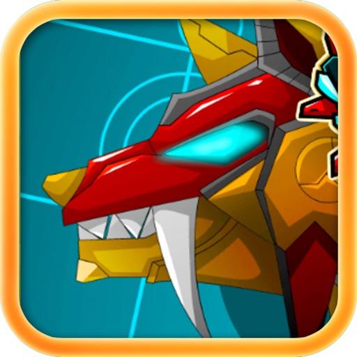 机甲狼*恐龙游戏免费:儿童游戏免费