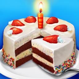 Sweet Birthday Cake - Summer Dessert Food Maker
