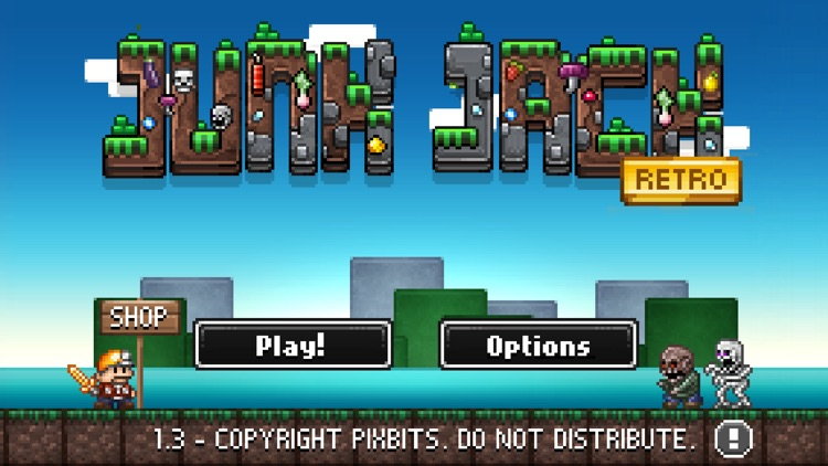 Junk Jack Retro screenshot-1