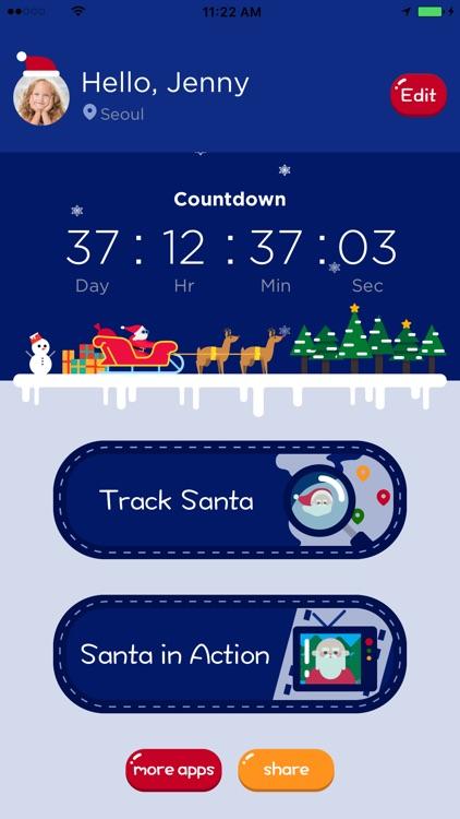 Santa Tracker - Where is Santa Claus?
