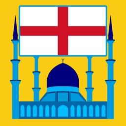 England Prayer Times - أوقات الصلاة في انجلترا
