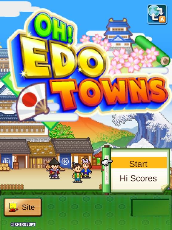 Игра Oh! Edo Towns