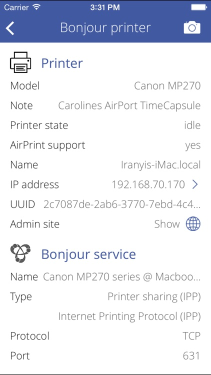 Printer Discover screenshot-1