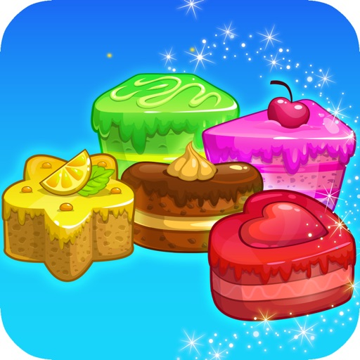 Cake Break Swap - Maker Mania Crazy Puzzle