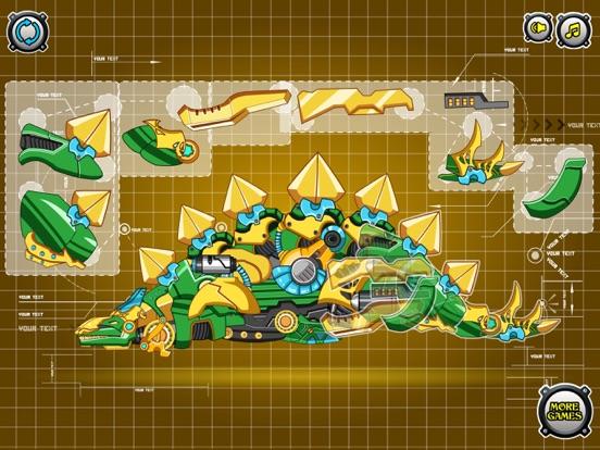 Скачать игру Steel Dino Toy: Mechanic Stegosaurus-2 player game