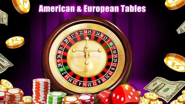 Roulette Casino FREE - American Roulette Wheel