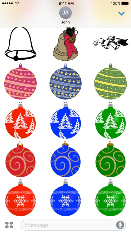 Christmas - A to Z Stickers