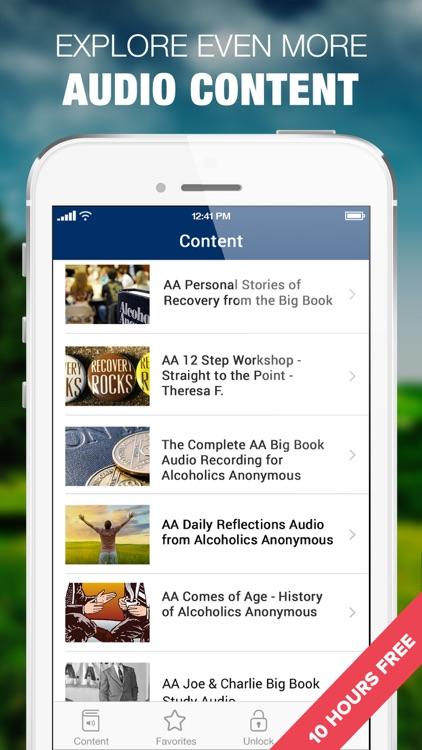 AA Big Book Sobriety Stories screenshot-3