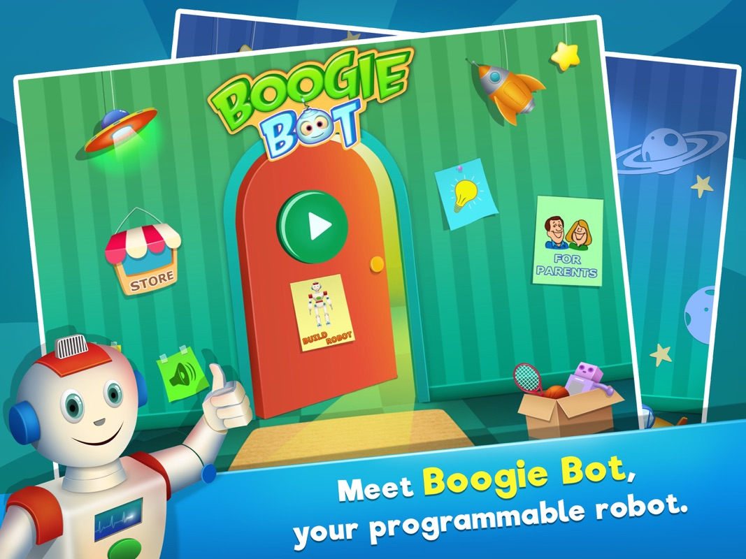 Boogie Bot - Coding for kids - Learn to code - Online Game
