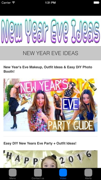 New Years Eve Ideas & Celebration
