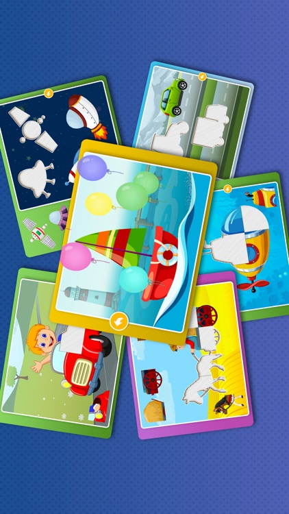 Kids Car Games: Toddlers Boys Learning puzzle Free screenshot-3