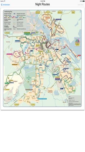 Amsterdam Metro Train Maps on the App Store